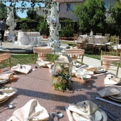 Table for wedding guests