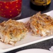 Taro shrimp cake