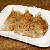 blue crab dumpling